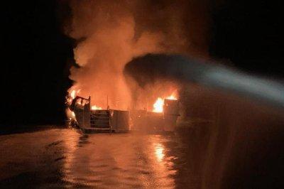 Coast Guard suspends California boat fire search; 34 presumed dead
