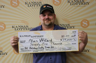 Casino luck leads to $75,000 lottery jackpot