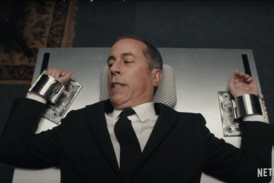 Jerry Seinfeld plays secret agent in trailer for Netflix comedy special