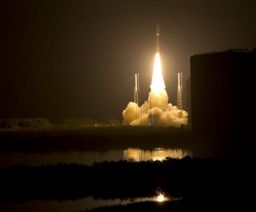 Newly launched MUOS satellite responding to commands