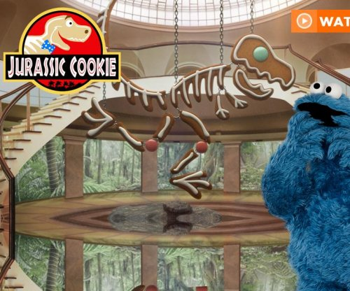 'Sesame Street' sends up 'Jurassic Park' with parody video