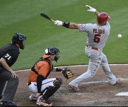 Los Angeles Angels' Albert Pujols has foot surgery