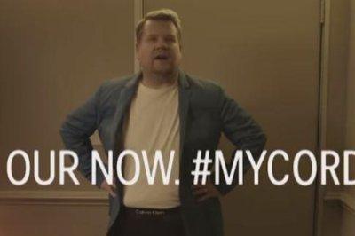 James Corden parodies Calvin Klein ad with Shawn Mendes