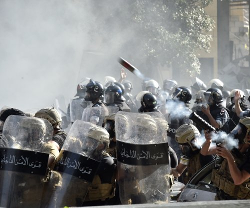 Police, protesters clash in wake of Beirut blasts