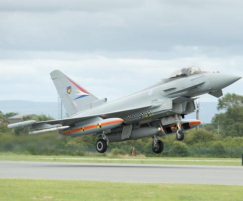 Eurofighter program official says new upgrades are 'well advanced'
