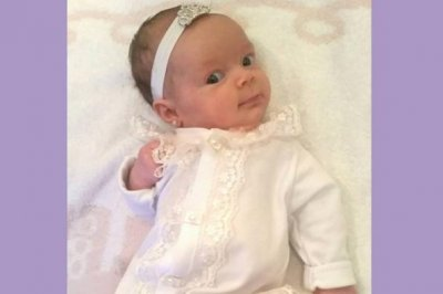 Coco Austin pierces 2-month-old daughter Chanel's ears