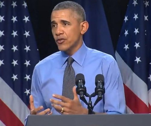 Obama says filtered Flint water is 'safe,' drinks from tap faucet during visit