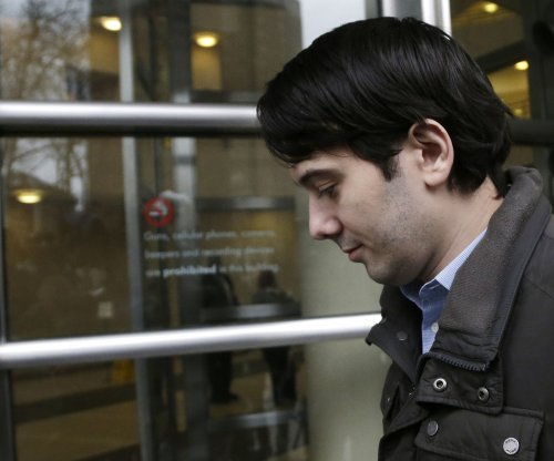 Shkreli's securities fraud trial scheduled for June 2017