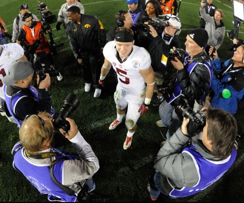 Stanford's Christian McCaffrey to be re-evaluated at midweek
