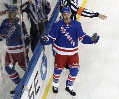 Newcomers propel New York Rangers past New York Islanders
