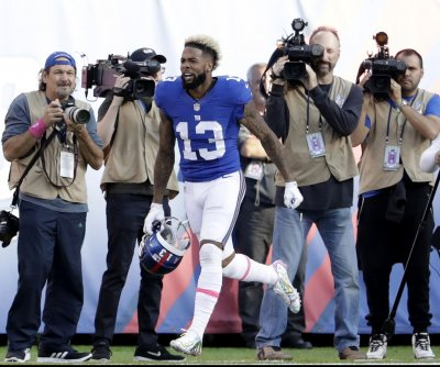 Odell Beckham Jr.'s celebration costs him