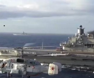 Russia's Admiral Kuznetsov aircraft carrier prepares for battle in Syria