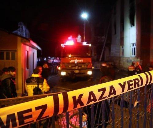 Fire in Turkish school dormitory kills 12