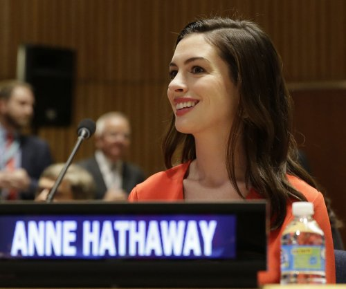 Anne Hathaway shares first photo of son after U.N. speech