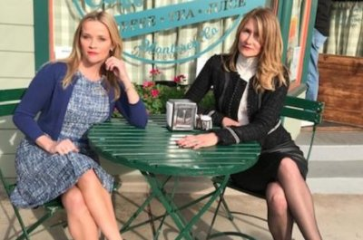 Reese Witherspoon, Laura Dern reunite on 'Big Little Lies' set