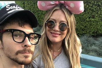 Hilary Duff spends 31st birthday with Matthew Koma, son Luca