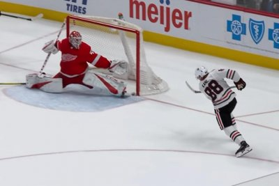 Chicago Blackhawks' Patrick Kane nets OT winner vs. Red Wings