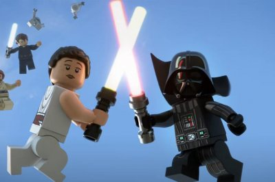 'Lego Star Wars Holiday Special': Rey crosses timelines in new trailer