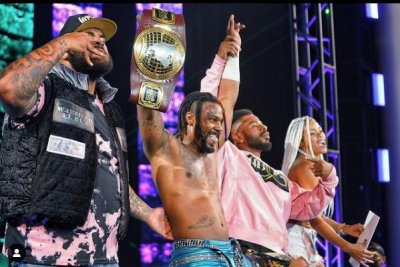 WWE NXT: Isaiah 'Swerve' Scott becomes North American Champion