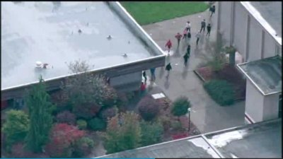 Two dead, more wounded in high school cafeteria shooting in Marysville, Wash.