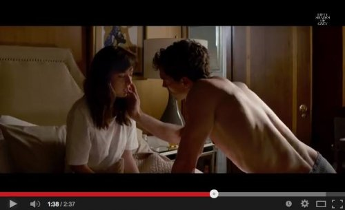 'Fifty Shades of Grey' debuts dramatic new trailer