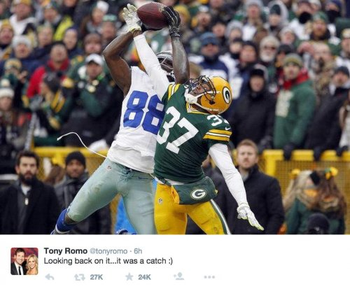 Tony Romo uses second tweet ever to troll fans