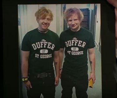 Rupert Grint says he's often mistaken for Ed Sheeran: 'I play along'
