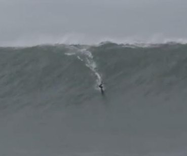Watch: Surfer breaks Guinness record by riding 73.5-foot wave