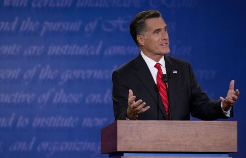 Economic Outlook: The Romney debate