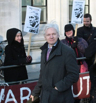 WikiLeaks Assange still at embassy in London; U.S. soldier awaits trial