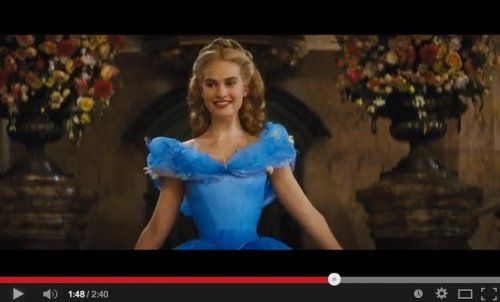 Lily James stars in first trailer for 'Cinderella'