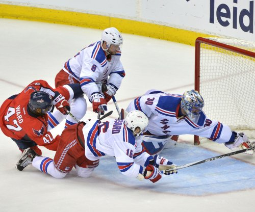 New York Rangers hold on for win against Washington Capitals