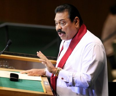 Former Sri Lanka president running for parliament months after defeat
