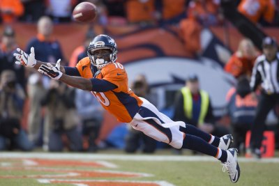 WR Emmanuel Sanders joins Broncos' recruitment of Kirk Cousins