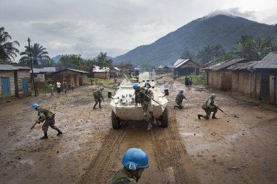 U.N. finds signs of massacre in eastern DRC