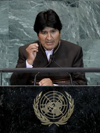 Bolivians unhappy with Morales seeking third term
