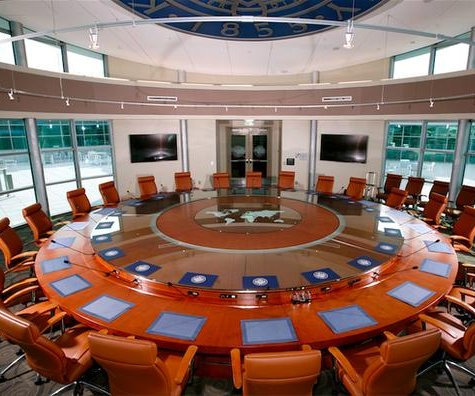 School's $219,000 conference table vexes students
