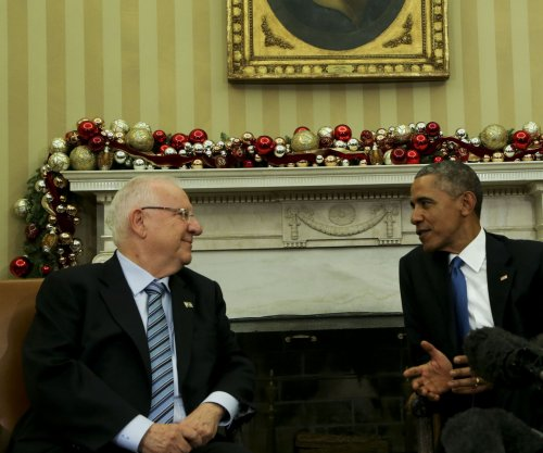 Obama meets with Israel's Rivlin in Oval Office