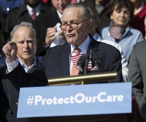Schumer seeks all-Senate meeting on healthcare