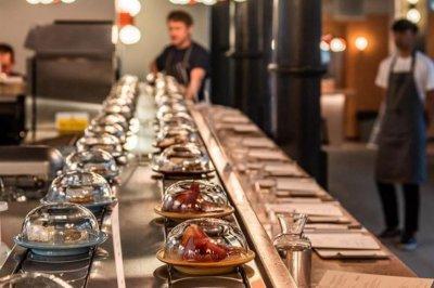 'World's first conveyer belt cheese restaurant' opens in London