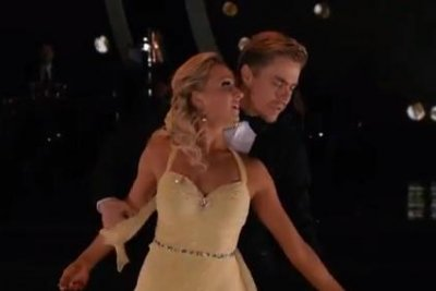 Nastia Liukin, Derek Hough earn perfect score on 'Dancing'