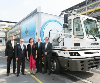 BMW's all-electric truck hits Munich streets