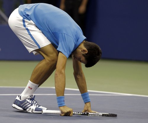 Novak Djokovic advances in his return to tournament play