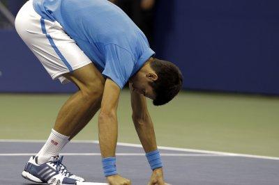 Novak Djokovic advances in his return to tournament play