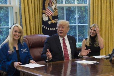 President Trump congratulates record-setting astronaut Peggy Whitson