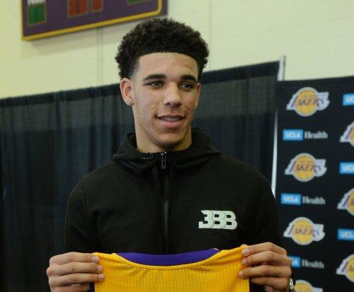 Los Angeles Lakers guard Lonzo Ball (calf strain) to sit out vs. Portland Trail Blazers