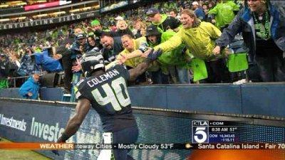 Hearing-impaired girl writes letter to deaf Seattle Seahawks fullback Derrick Coleman