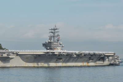 USS Ronald Reagan arrives in Japan for security support
