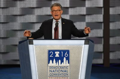 Al Franken skewers Donald Trump with sarcastic convention speech