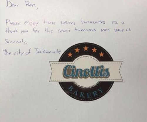 Jacksonville bakery sends 7 'turnovers' to Steelers' Roethlisberger in troll job